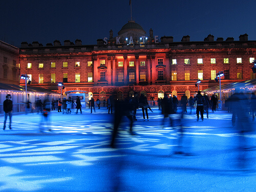 The Skate at Somerset House Ice Rink
