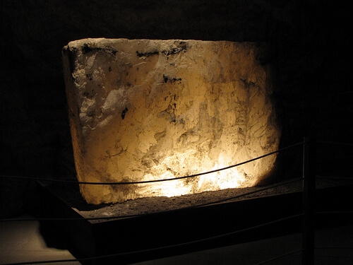 Exhibit in the Kansas Underground Salt Museum