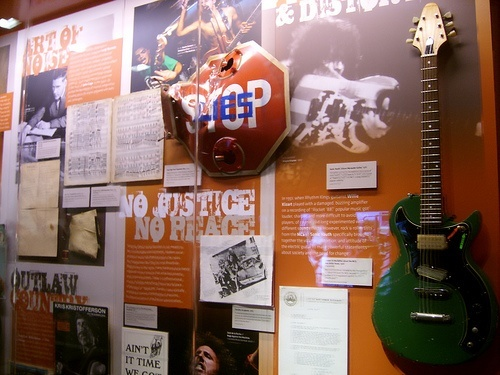 Exhibit at the Grammy Museum, Los Angeles