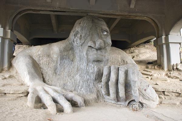 The Fremont Troll, Seattle