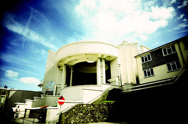 The Tate St Ives building
