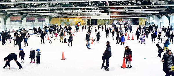 NYC's Sky Rink at Chelsea Piers