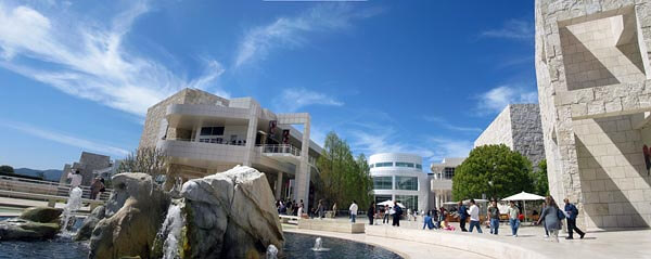 The Getty Center museum, Los Angeles