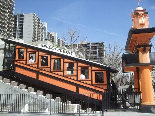 Angel's Flight is the world's shortest railway