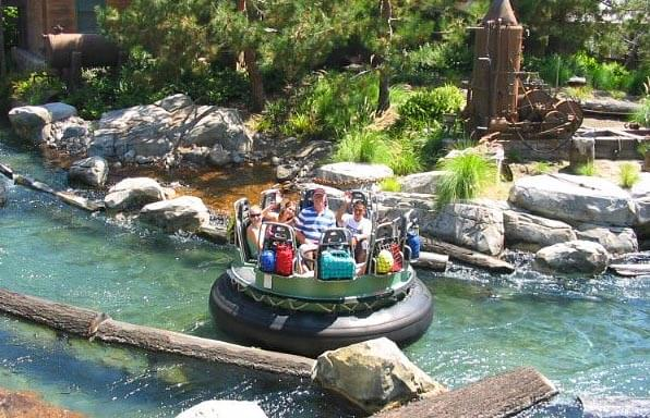 The Grizzly River Run at Disney's California Adventure park