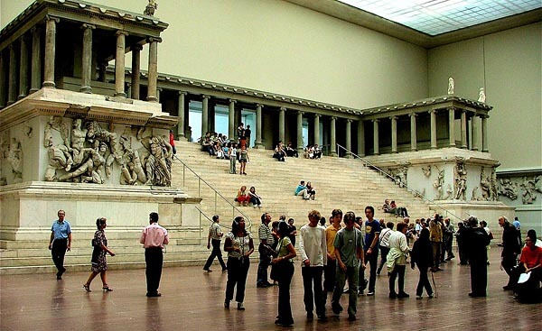The Pergamon Museum in Berlin, Germany