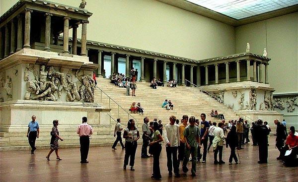 The Pergamon Museum in Berlin, Germany