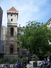 The Tower of Jean-sans-Peur in Paris