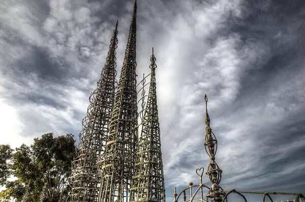 The astounding Watts Towers in Los Angeles
