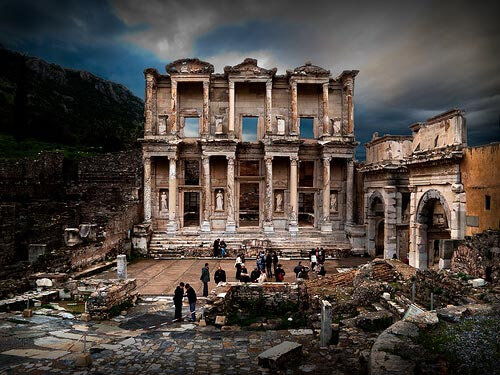 The Celso library in Ephesus