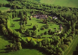 The Wandlebury Hill Fort from the air