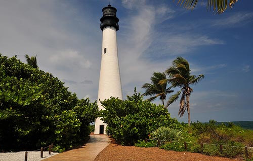Lighthouse in Bill Baggs Cape Florida State Park