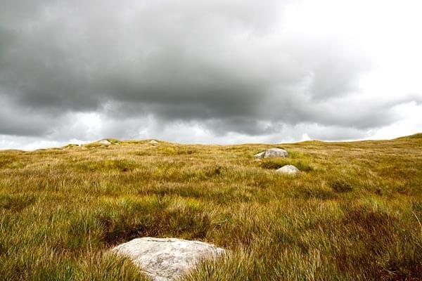 Diamond Hill in Connemara National Park, Ireland