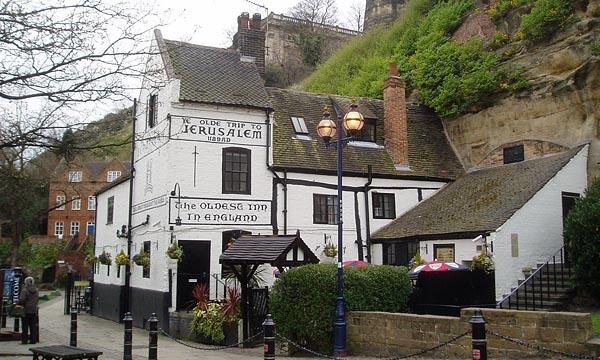 The world's oldest pub, Ye Olde Trip to Jerusalem in Nottingham