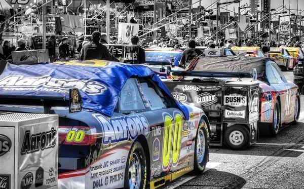 Starting lineup at Daytona 500
