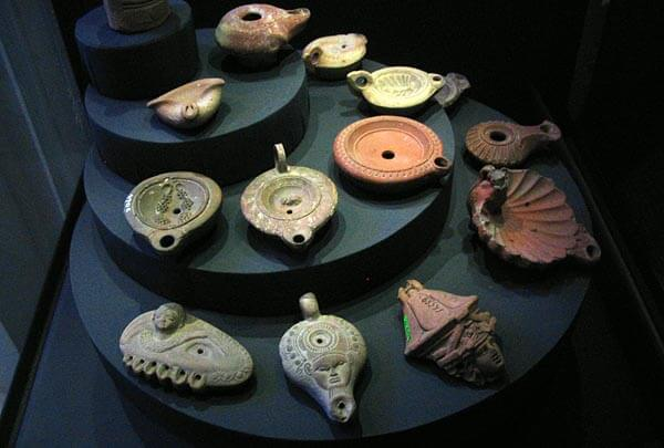Artifacts in the National Museum of Alexandria
