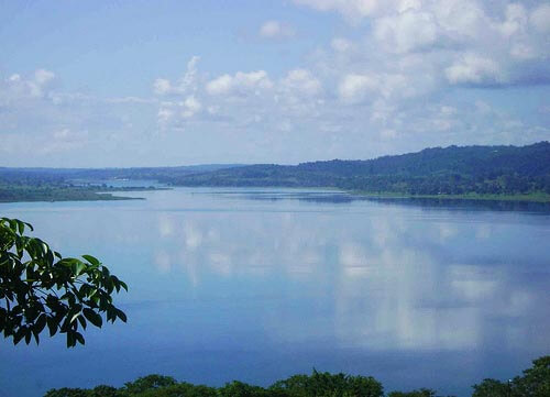Lake Peten Itza in Guatemala