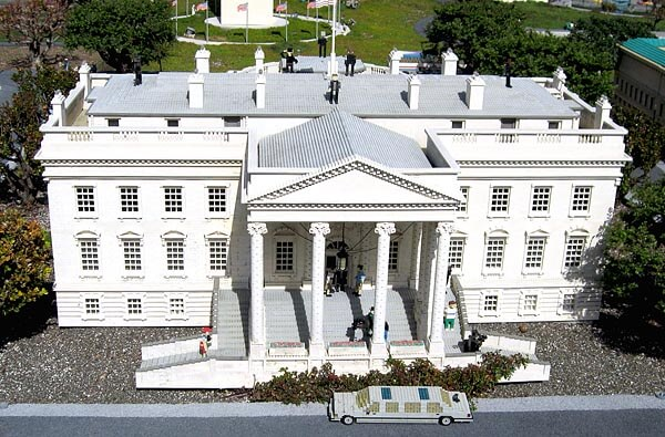 The White House at Legoland California