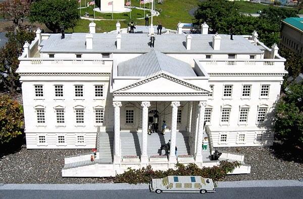 The White House at Legoland California