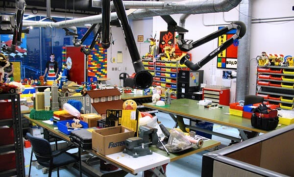 Workshop at Legoland California