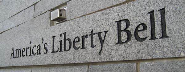 The Liberty Bell Center facade in Philadelphia
