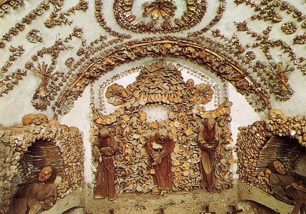 Inside the Capuchin Crypt in Rome