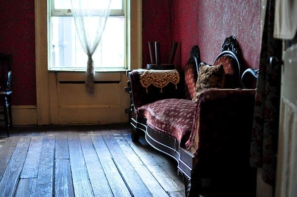 Interior of the Tenement Museum in New York