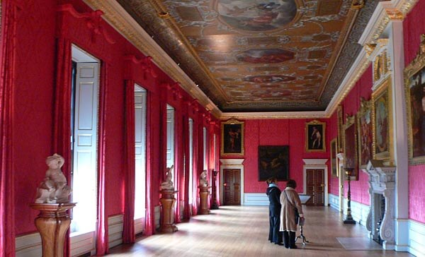 A beautiful hall in Kensington Palace