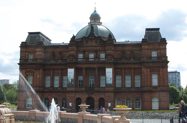 The People's Palace on Glasgow Green