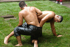 Oil wrestling in Turkey