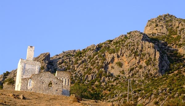 The Spanish Mosque ruins in the Rif mountains