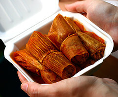 Tamales in a box