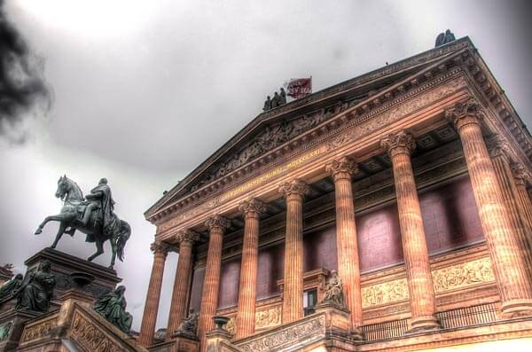 The Alte Nationalgalerie in Berlin