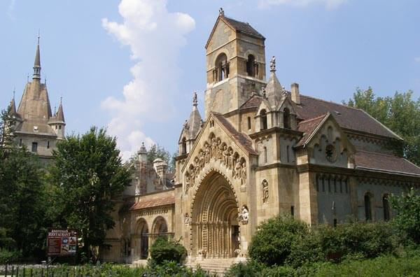 A chapel in the Budapest historical Buda Castle District
