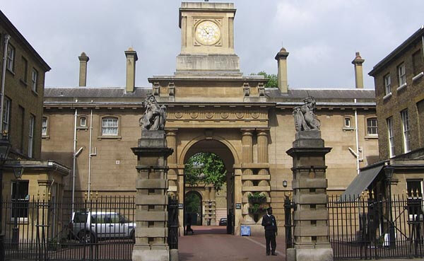 Entrance to the Royal Mews