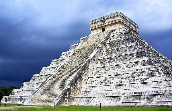 The Castello at Chichen Itza