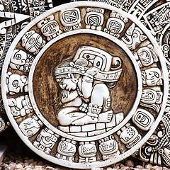 Mayan stone circle