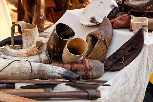 Equipment that the Vikings would have used