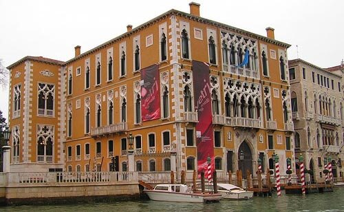 The Accademia museum in Venice