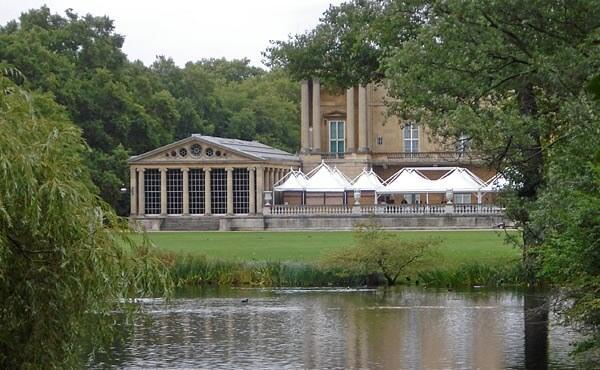 The Buckingham Palace Gardens