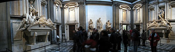 The Medici Chapel Museum in Florence