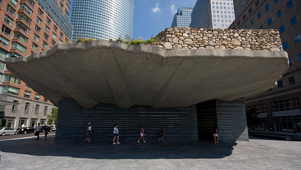 The Irish Hunger Memorial, NYC