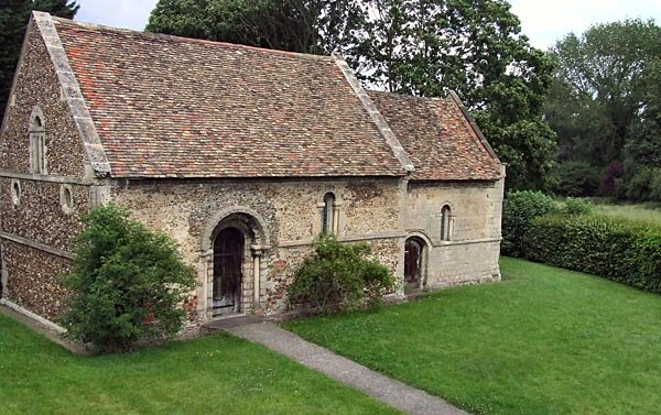The Leper Chapel in Cambridge