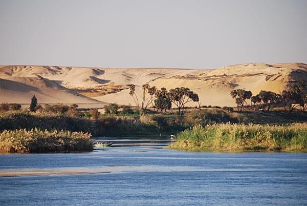 Views along the Nile River