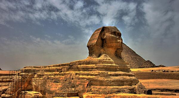 The mighty Sphinx at Giza