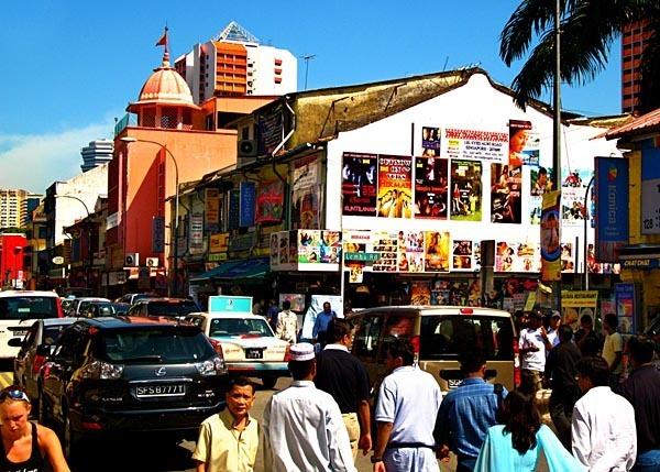 Lembu Road, the busiest street in Singapore