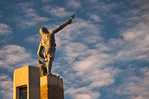 The Vulcan the Iron Man statue in Birmingham, Alabama
