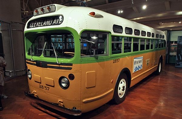 The bus that Rosa Parks rode