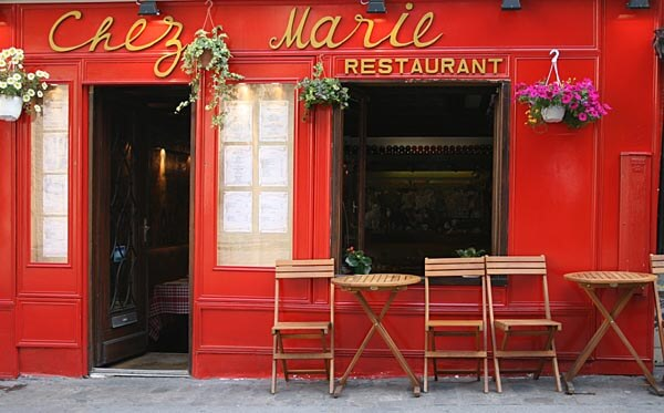 Chez Marie in Paris