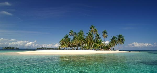 A pristine island in the San Blas archipelago
